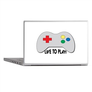 Live To Play! Laptop Skins