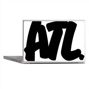 ATL Brushed W Laptop Skins