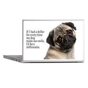 Pug Laptop Skins