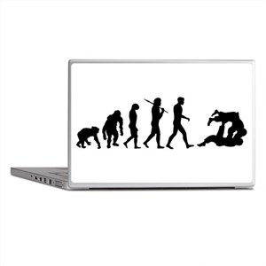 Evolution of Judo Laptop Skins