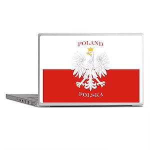 Poland Polska White Eagle Flag Laptop Skins