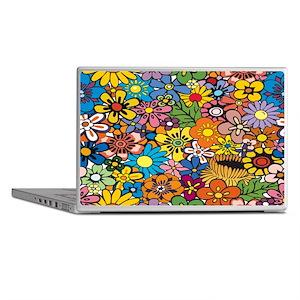 Flower Pattern Laptop Skins