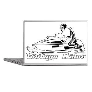 VintageRiderDarkDesign Laptop Skins