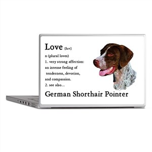 German Shorthaired Pointer Laptop Skins