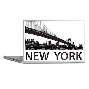 New York Skyline Laptop Skins