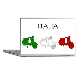 Italian Scooters Laptop Skins