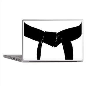 Martial Arts Black Belt Laptop Skins