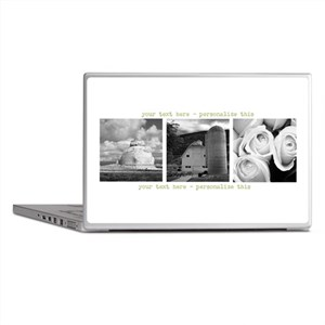 Your Artwork and Text here Laptop Skins