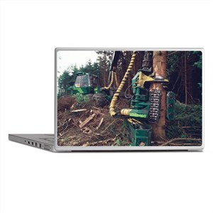 Commercial forestry - Laptop Skins