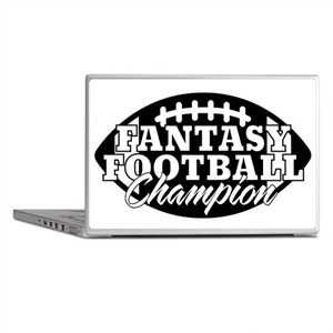 Personalized Fantasy Football Laptop Skins