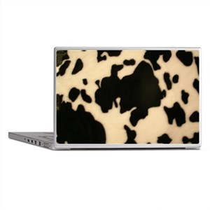 Dairy Cow Print Laptop Skins