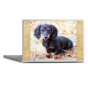 Puppy Love Doxie Laptop Skins