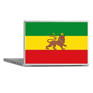 Ethiopia Flag Lion of Judah Rasta Reggae Laptop Sk