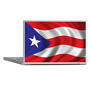 Flag of Puerto Rico Laptop Skins