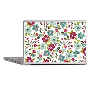 Plum Seed floral laptop skin