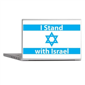 I Stand with Israel - Flag Laptop Skins