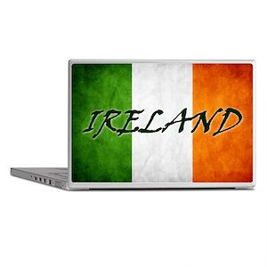irish_flag_banner_4w Laptop Skins