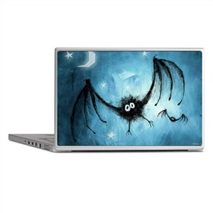 bat_blue_miniposter_12x18_fullbleed Laptop Skins