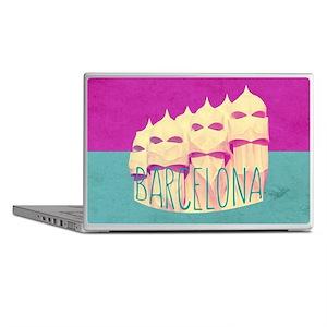 Barcelona Gaudi Paradise Laptop Skins