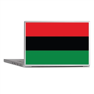 The Red, Black and Green Flag Laptop Skins