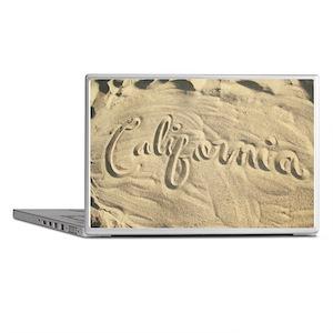 CALIFORNIA SAND Laptop Skins