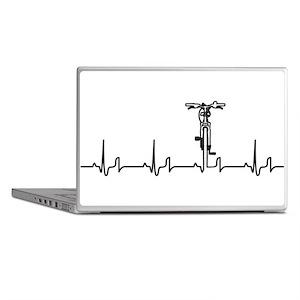 Bike Heartbeat Laptop Skins