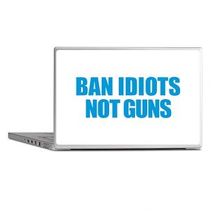 Ban Idiots Laptop Skins