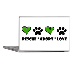 Rescue*Adopt*Love Laptop Skins