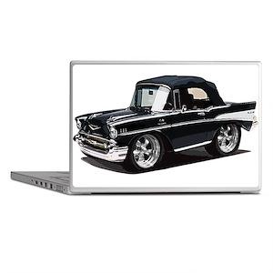BabyAmericanMuscleCar_57BelR_Black Laptop Skins
