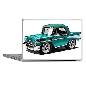 BabyAmericanMuscleCar_57BelR_Green Laptop Skins