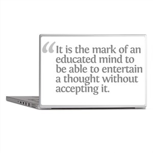 Aristotle It is the mark Laptop Skins