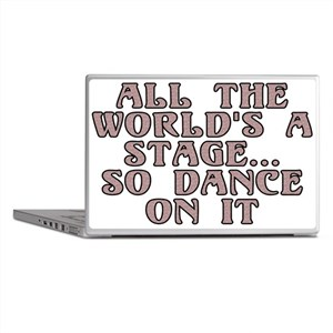 All the world's a stage - Laptop Skins