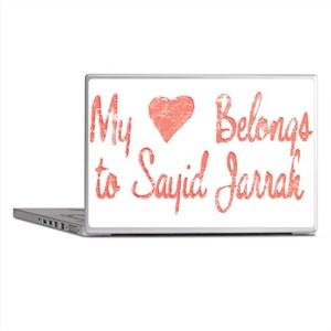 Heart Belongs Sayid Jarrah Laptop Skins