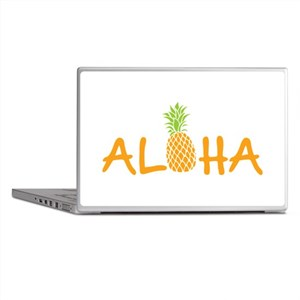 Aloha Pineapple Laptop Skins