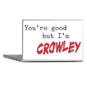 I'm Crowley 3 Laptop Skins