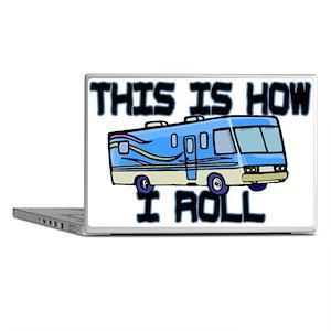 How I Roll RV Laptop Skins