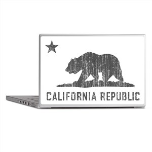 Vintage California Republic Laptop Skins