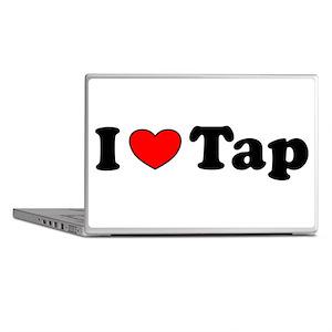 I Heart Tap Laptop Skins