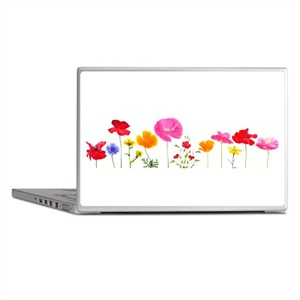 wild meadow flowers Laptop Skins