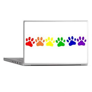 Rainbow Paws Laptop Skins