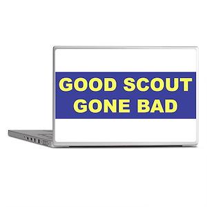 Good Scout Gone Bad (Blue) Laptop Skins