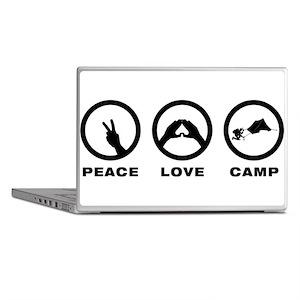Camping Laptop Skins