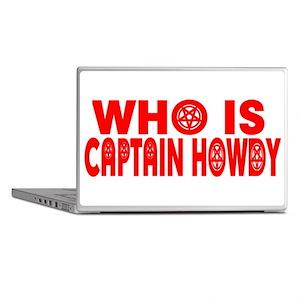 CAPTAIN HOWDY Laptop Skins