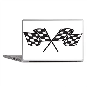 Checkered Flag, Race, Racing, Motorsports Laptop S
