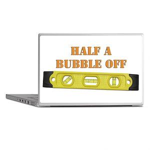 Half A Bubble Off Laptop Skins