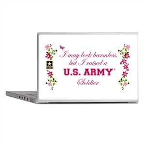 I Raised A Soldier Laptop Skins