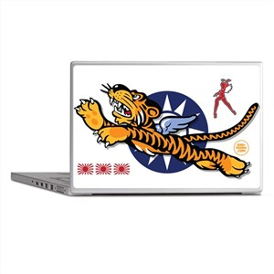 Flying Tigers (B) Nose Art Laptop Skins