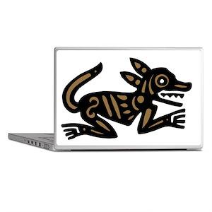 Tribal Dog Laptop Skins