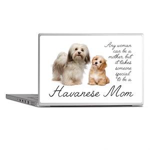 Havanese Mom Laptop Skins