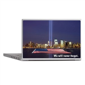9/11 Tribute - Never Forget Laptop Skins